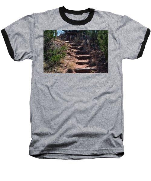 Juniper Ridge Steps Baseball T-Shirt