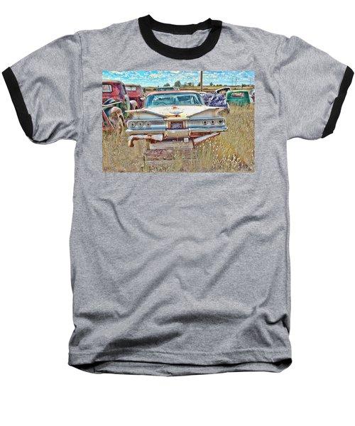 Junkyard Series 1960's Chevrolet Impala Baseball T-Shirt
