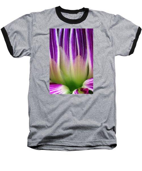 Just A Dahlia 1 Baseball T-Shirt by Wendy Wilton