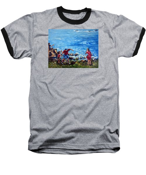 Just A Pebble In The Water Baseball T-Shirt