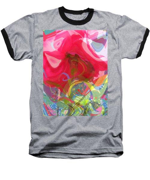 Baseball T-Shirt featuring the photograph Just A Wild And Crazy Rose by Brooks Garten Hauschild