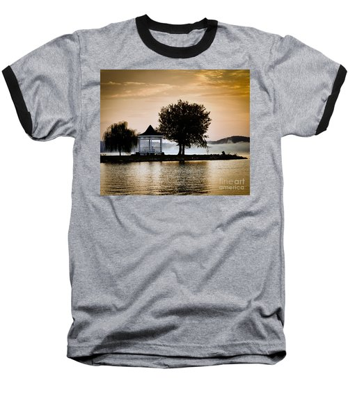 Just Before Sunrise Baseball T-Shirt by Kerri Farley