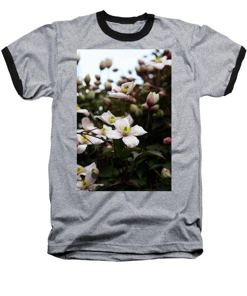 Just Flowers Baseball T-Shirt