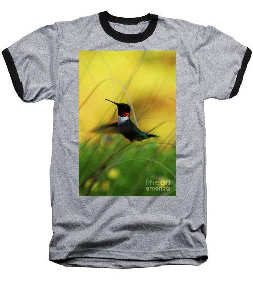 Just Flying Baseball T-Shirt by Lori Tambakis