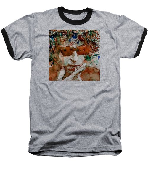 Just Like A Woman Baseball T-Shirt by Paul Lovering