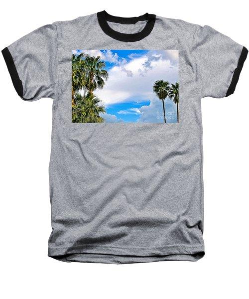 Just Mingling Baseball T-Shirt by Angela J Wright