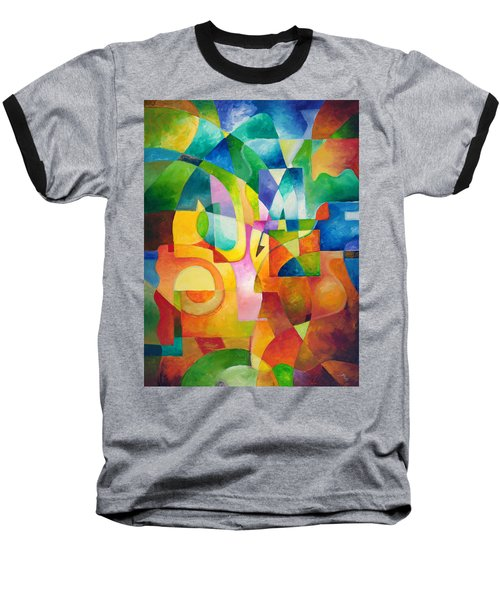 Just Outside Baseball T-Shirt by Sally Trace