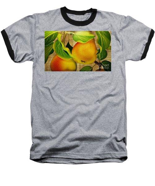 Baseball T-Shirt featuring the photograph Just Pears by Judy Palkimas