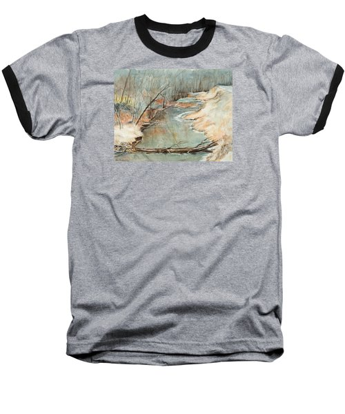 Just Resting Baseball T-Shirt by Lee Beuther
