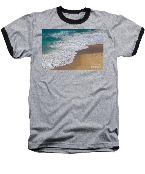 Just Waves And Sand By Kaye Menner Baseball T-Shirt