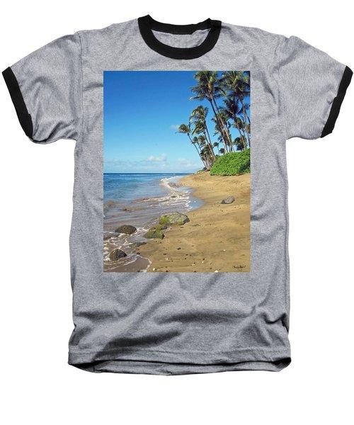 Ka'anapali Beach Baseball T-Shirt