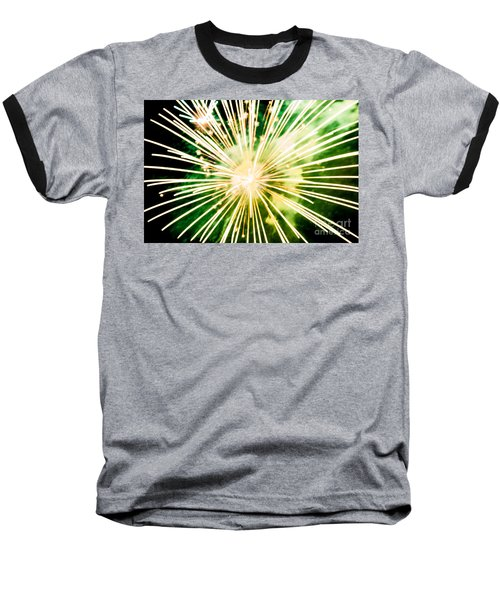 Baseball T-Shirt featuring the photograph Kaboom by Suzanne Luft