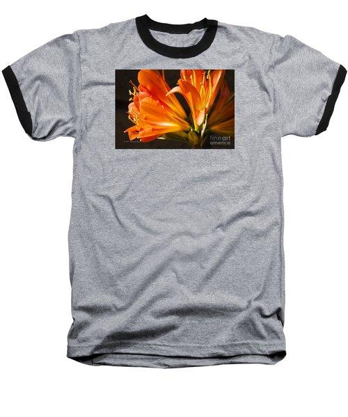 Kaffir Lily Glow Baseball T-Shirt
