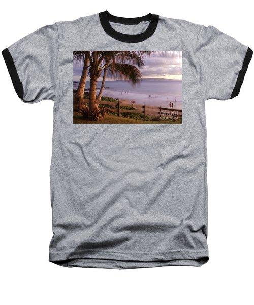 Kai Makani Hoohinuhinu O Kamaole - Kihei Maui Hawaii Baseball T-Shirt