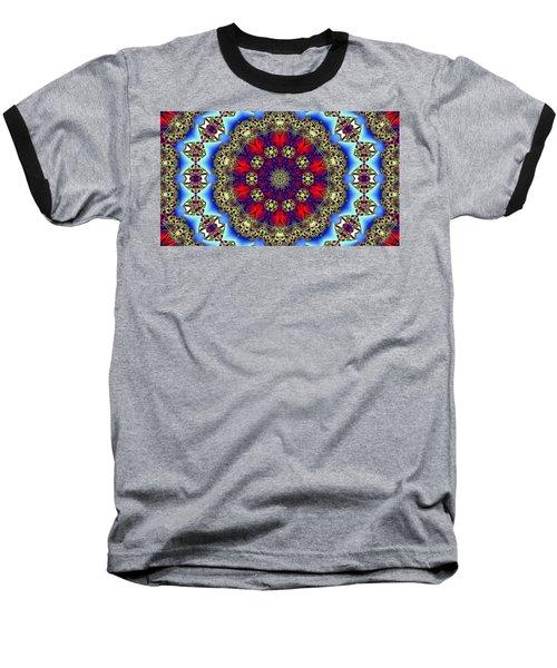 Kaleidoscope 51 Baseball T-Shirt