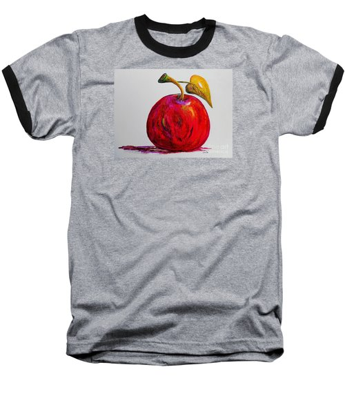 Kaleidoscope Apple -- Or -- Apple For The Teacher  Baseball T-Shirt