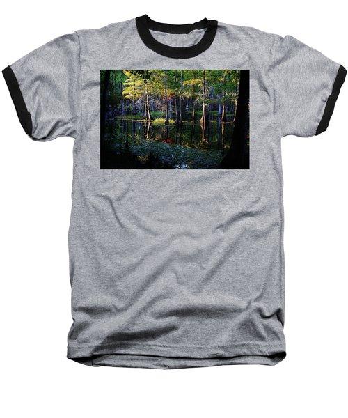 Kaleidoscope Light Baseball T-Shirt