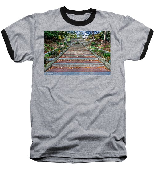 Kalorama Spanish Steps Baseball T-Shirt
