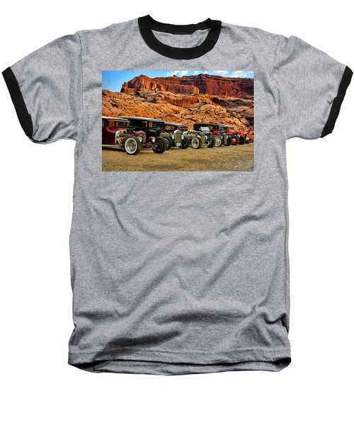 Kansas City Rat Rods And Hot Rods Baseball T-Shirt