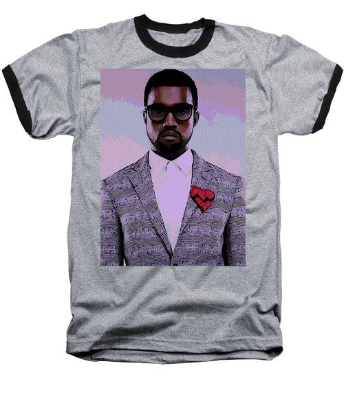 Kanye West Poster Baseball T-Shirt