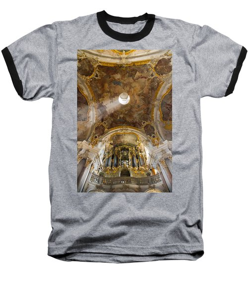 Kappele Wurzburg Organ And Ceiling Baseball T-Shirt