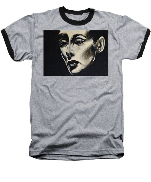 Baseball T-Shirt featuring the painting Katherine by Sandro Ramani
