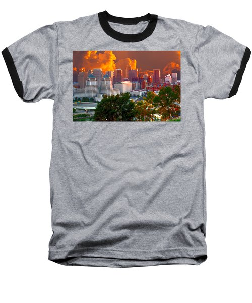 Katrina Storm Hits Cincinnati Baseball T-Shirt