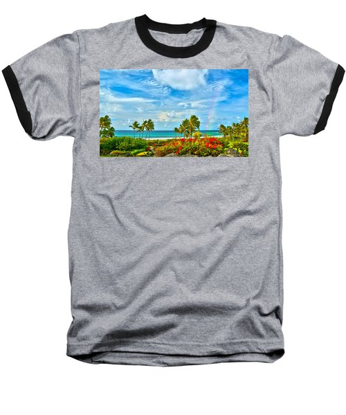 Kauai Bliss Baseball T-Shirt by Marie Hicks
