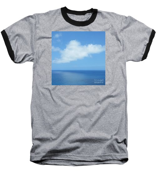 Baseball T-Shirt featuring the photograph Kauai Blue by Joseph J Stevens