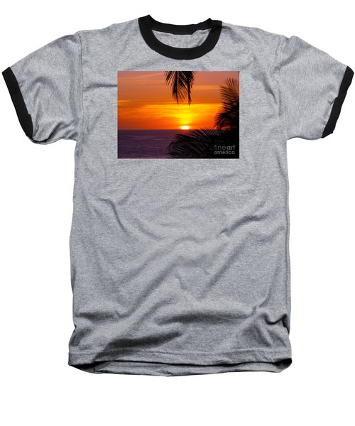 Kauai Sunset Baseball T-Shirt