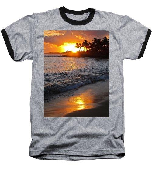 Kauai Sunset Baseball T-Shirt