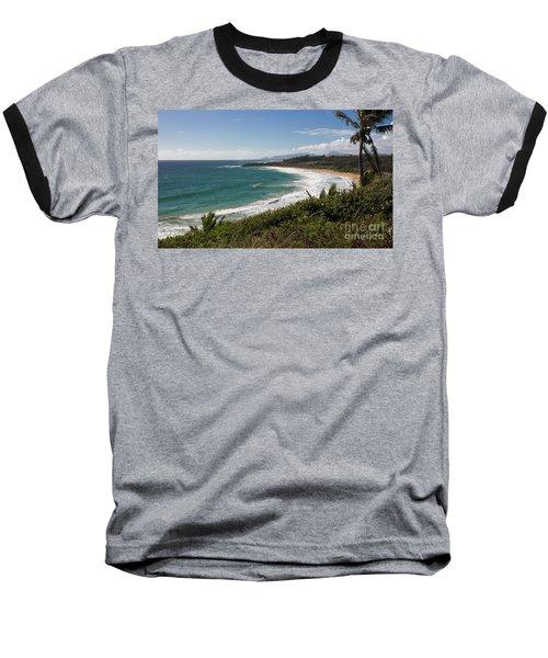 Kauai Surf Baseball T-Shirt by Suzanne Luft