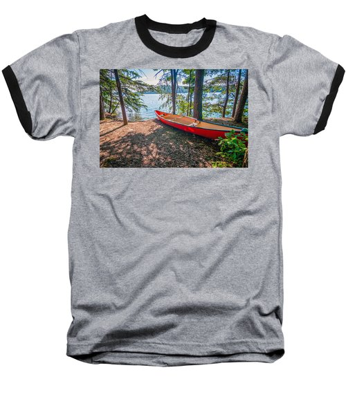 Kayak By The Water Baseball T-Shirt
