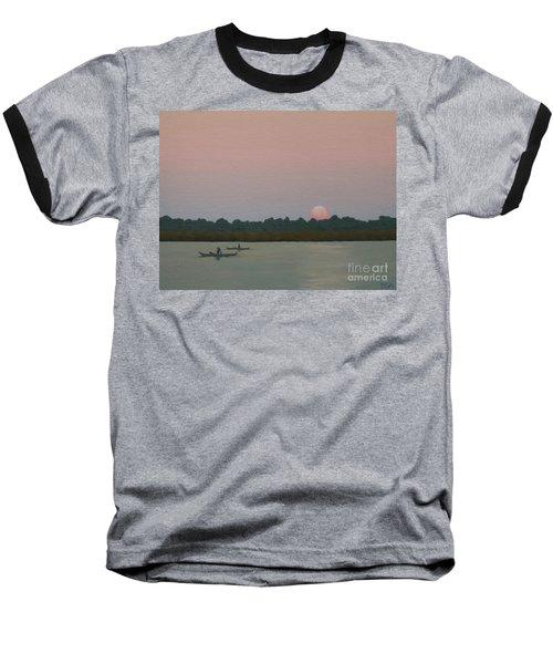 Kayaking At Kiawah Baseball T-Shirt