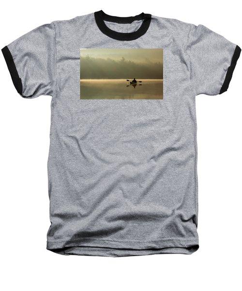 Kayaking At Sunup Baseball T-Shirt