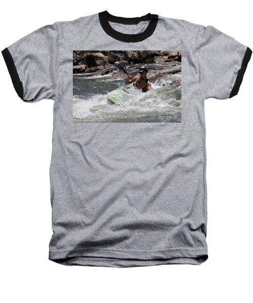 Kayaking In Golden Baseball T-Shirt