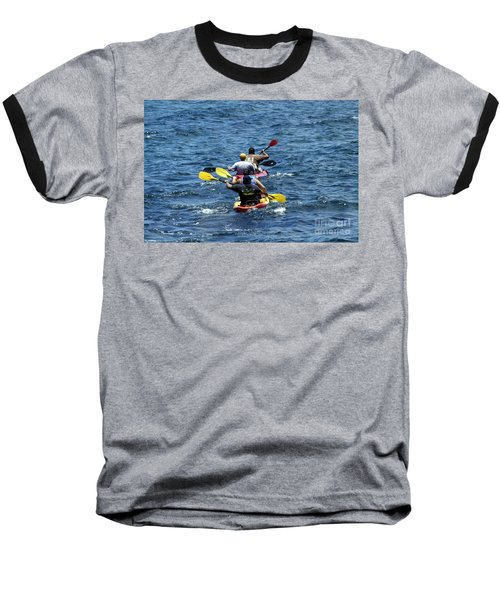 Kayaking In Hawaii  Baseball T-Shirt