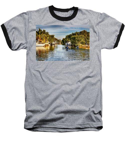 Kayaking The Canals Baseball T-Shirt