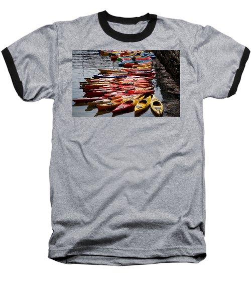 Kayaks At Rockport Baseball T-Shirt