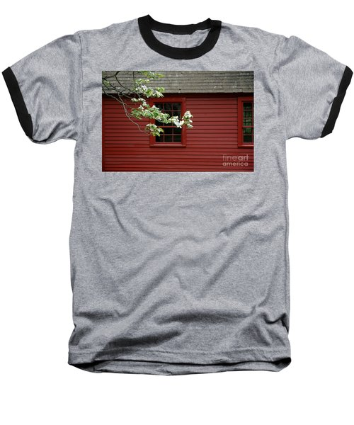 Baseball T-Shirt featuring the photograph Keeney School House by Christiane Hellner-OBrien