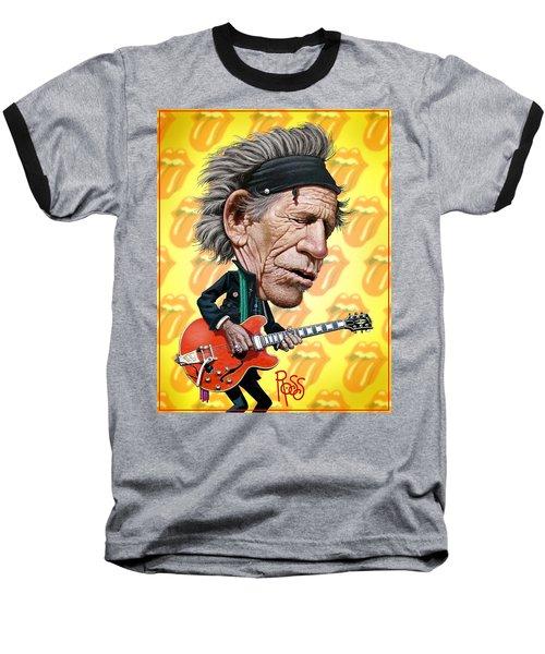 Keith Richards Baseball T-Shirt
