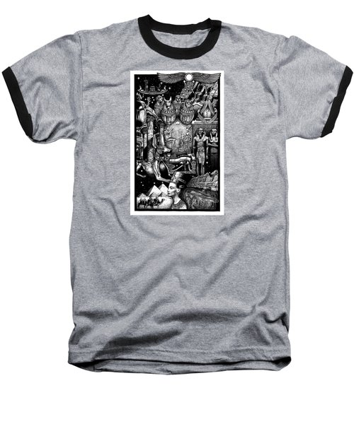 Kemitology Baseball T-Shirt
