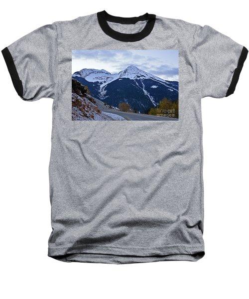 Kendall Mountain Morning Baseball T-Shirt