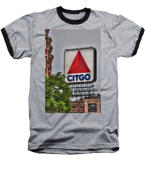 Kenmore Square And The Citgo Sign Baseball T-Shirt by Joann Vitali