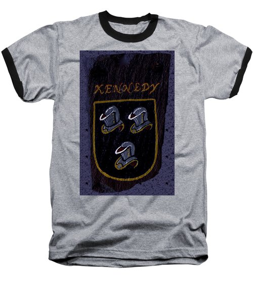 Kennedy Crest Baseball T-Shirt