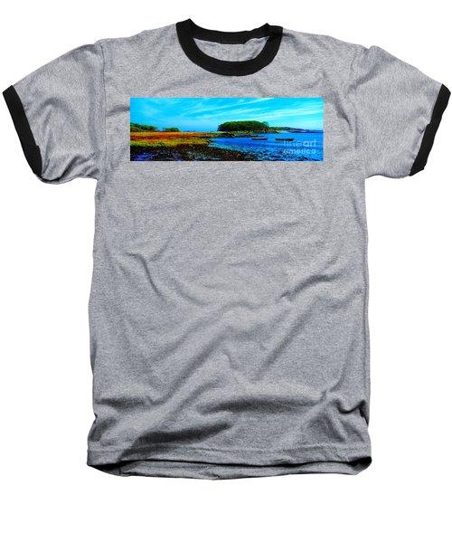 Baseball T-Shirt featuring the photograph Kennepunkport Vaughn Island  by Tom Jelen