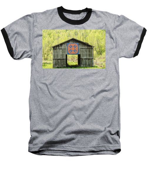 Kentucky Barn Quilt - Happy Hunting Ground Baseball T-Shirt