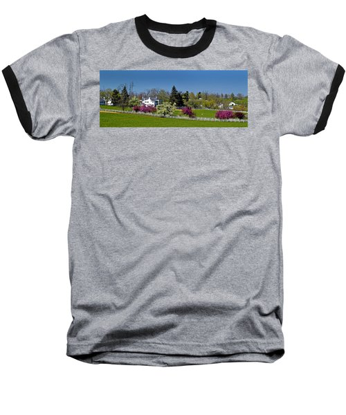 Kentucky Horse Farm Baseball T-Shirt