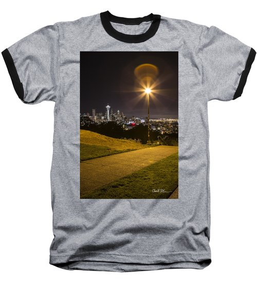 Kerry Park Seattle Baseball T-Shirt