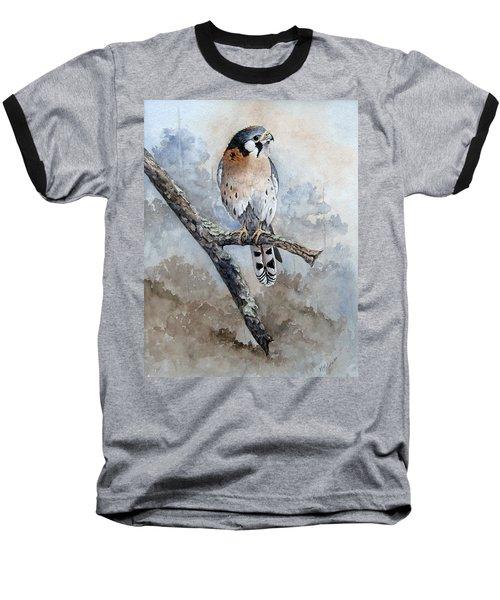 Kestrel Perch Baseball T-Shirt